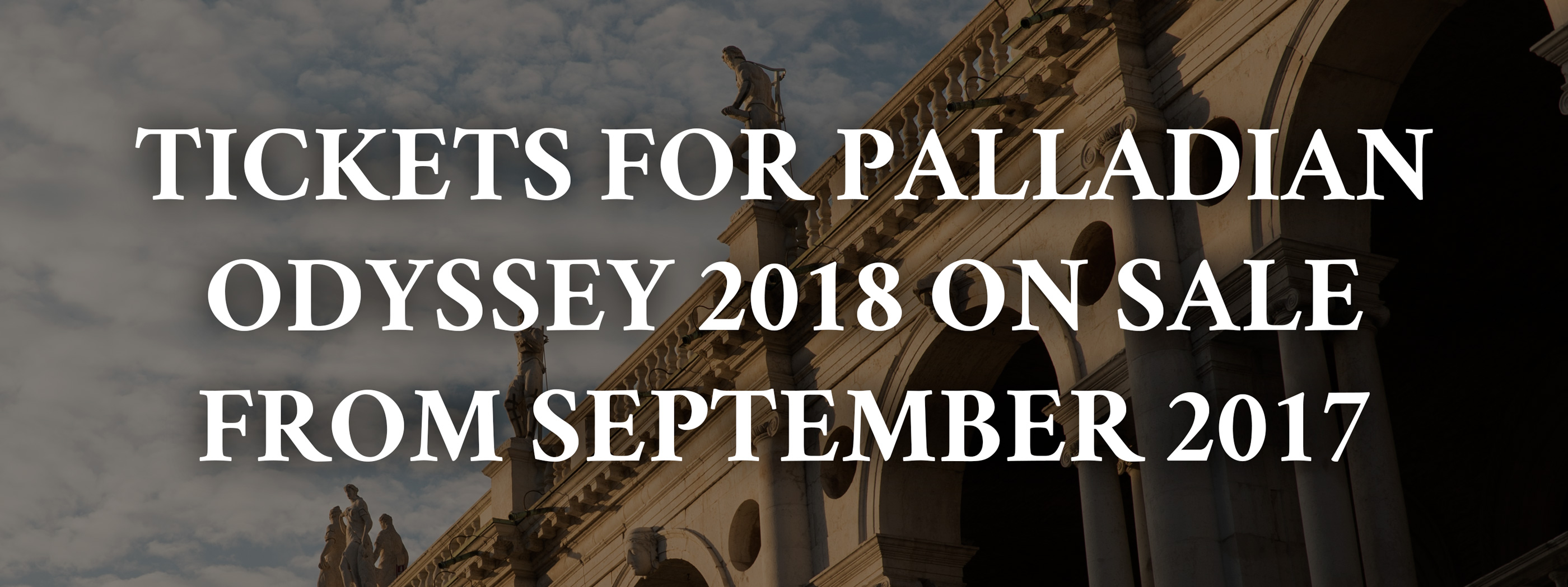 theTickers for Palladian Odyssey 2048 on sale september 2017